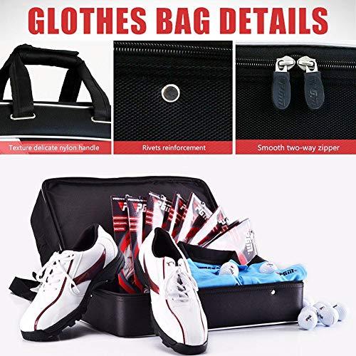 Class.Z Golf Duffel Bag Fitness Bag Herren Golf Bag Golf Kleidung Tasche Wasserdicht Doppelschichten OutdoorTravel Tote Für Männer Und Frauen Sporttasche 49 × 26 × 30 cm Realistic Value