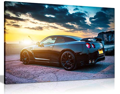 Nissan Gtr Canvas Wall Art Picture Print (24X16) steampunk buy now online
