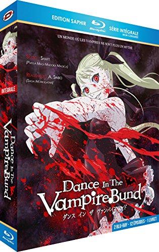 Dance in The Vampire Bund-Intégrale Saphir [2 Blu-Ray] + Livret [Édition Gold]