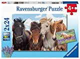 Ravensburger Puzzle Ravensburger 05148 - Puzzle Infantil (2 x 24 Piezas, para niños a Partir de 4 años), Color Amarillo