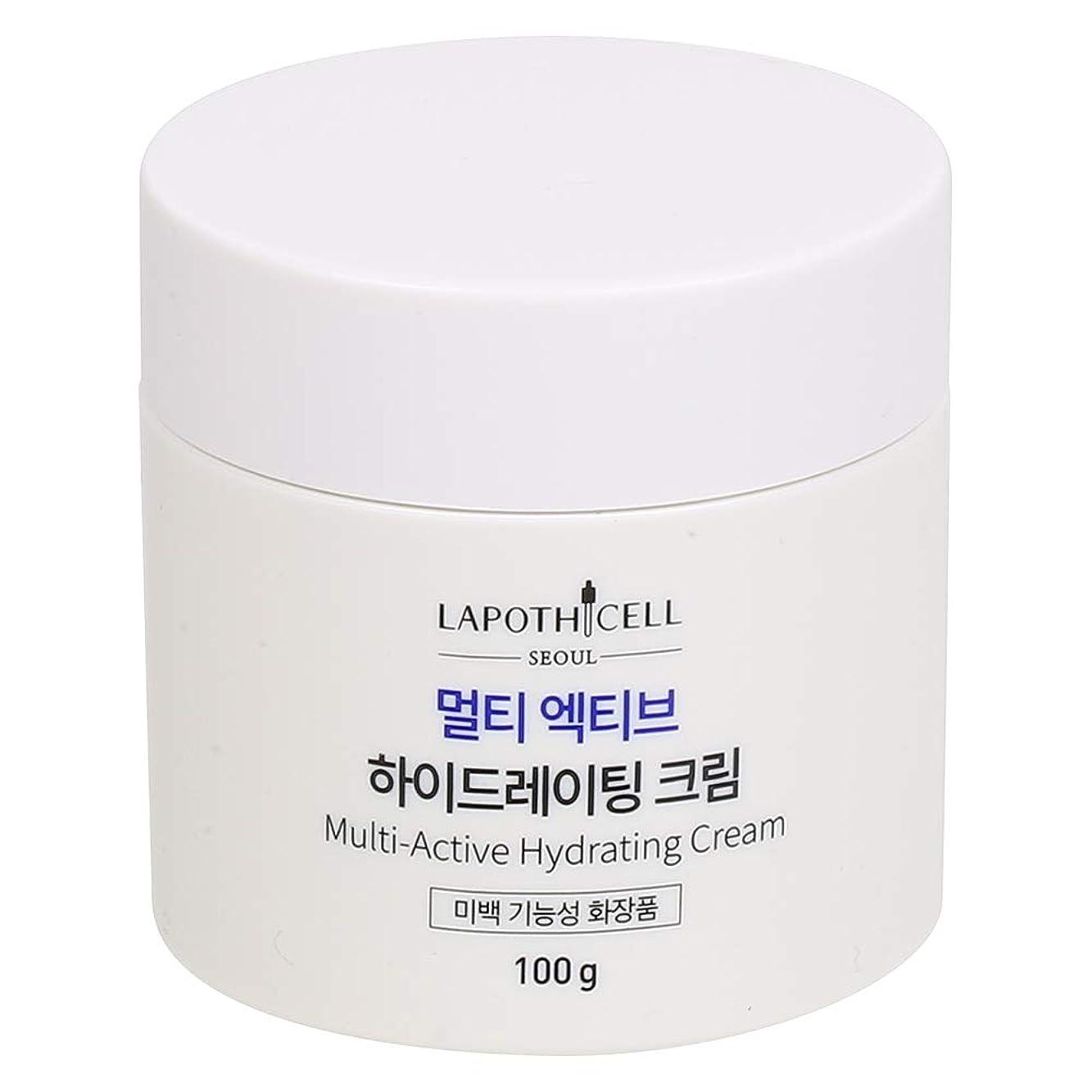 セメント悪魔ケーブルカーLapothicell☆Multi-Active Hydrating Cream100g[並行輸入品]