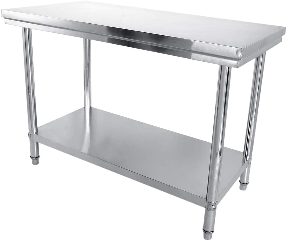 Workstations Commercial Work National uniform free Max 63% OFF shipping Tables Service Food Equipment Du