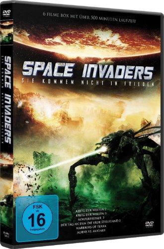 SPACE INVADERS - 6 Filme-Box (Krieg der Welten 2+3 - Körperfresser 2 - Der Tag an dem die Erde stillstand 2 - Warriors of Terra - Aliens vs Avatars)