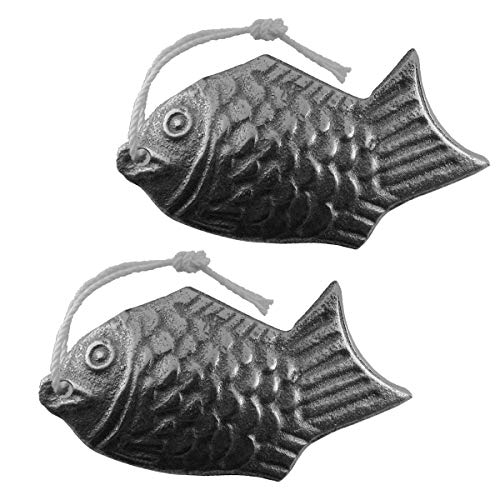 Lisol Pasific Iron Fish, 2 Pack, Cooking Tool Adds Safe Iron to Food, Reusable, A Natural Source of Iron, an Iron Supplement Alternative, for Vegans/Vegetarians, Pregnant Women, Athletes, Kids