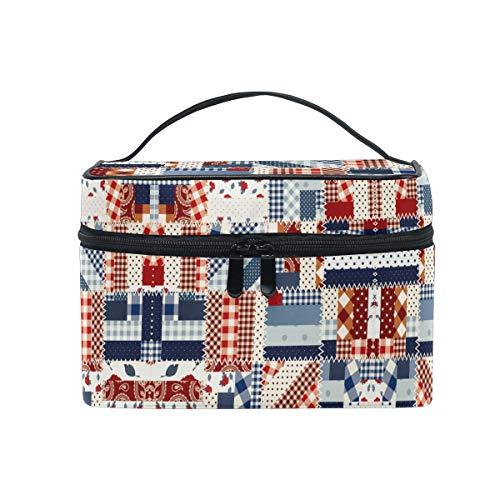 Jigsaw puzzel Polka Dot make-up tas voor vrouwen cosmetische tas Toiletruimte Trein Case