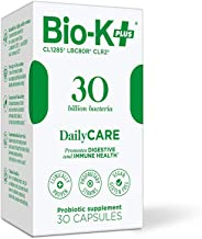 Bio-K+ Probiotic Supplement Capsule for Women & Men. 30 Billion Bacteria at Expiry Date. Delayed Release Capsule, Vegan & ...