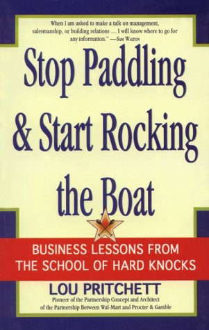Stop Paddling and Start Rocking the Boat