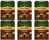 Jacobs Type Espresso Instant Ground Coffee, 25 Portions (Pack of 6)