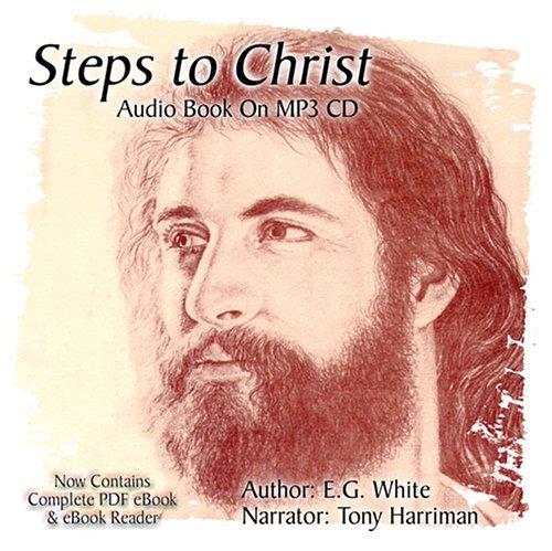 Steps to Christ Audiobook on MP3 CD