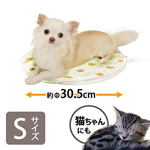 アイリスオーヤマ『ペット用ホットカーペットSサイズ丸形PHK-S』