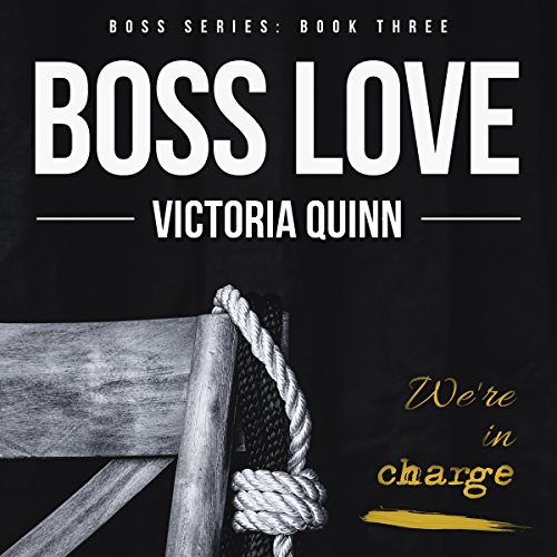 Boss Love audiobook cover art