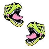 Neva Nude Sexy Trexy T Rex Dinosaur Nipztix Pasties Nipple Covers for Festivals, Raves, Parties, Lingerie and More, Medical Grade Adhesive, Waterproof and Sweatproof, Made in USA