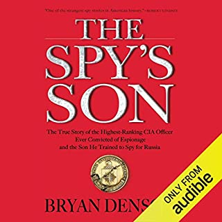 The Spy's Son audiobook cover art