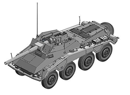 Model Kit - Sd.Kfz.234/4 mit 7.5cm L/48 - 1:35 Scale