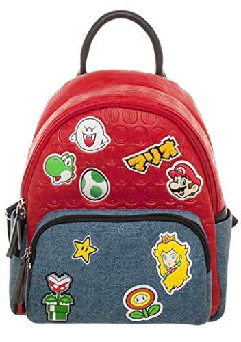 Super Mario Brothers Patches Juniors Mini Rugzak