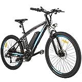Speedrid Bicicletas eléctricas, Bicicleta eléctrica de 27.5 Pulgadas con Ruedas de aleación de magnesio, ebike para Adultos Hombres Mujeres