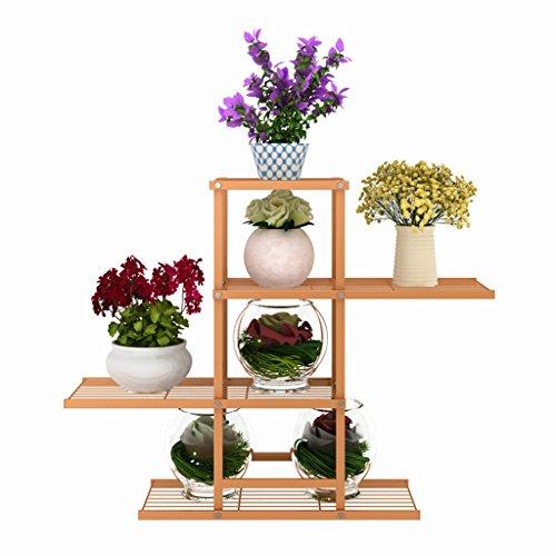 Fer Forgé Balcon Salon Pots de fleurs sur le sol Multi-étages Intérieure et extérieure de style européen fleur araignée Green Green Flower Shelf