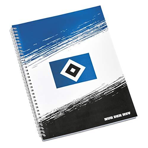 HSV Collegeblok Hamburger Sportvereniging SV sticker Hamburg Forever, schrijfblok papierblok A4