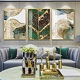 Ivpss Cuadros de arte de pared personalizables, Hojas y troncos, Texturas abstractas, Carteles de lienzo nórdico, Pinturas decorativas, Vida moderna
