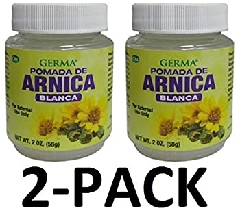 Arnica Blanca Pomada 2 oz  58g  White Arnica Ointment Arnica Salve 2-Pack