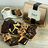 FOR SOMEONE WHO DESERVES ONLY THE BEST- Dulcet give basket includes: 8 Assorted Brownies-Flavors Include: Chocolate Chip Blondie, Chocolate Cheese, Chocolate Fudge &/or Walnut. Our scrumptious ensemble is arranged in a mouth-watering combination for ...
