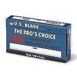 U.S. Blade U-113-25 4' Scraper Blades 100 Pak