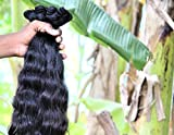 """Indian Human Hair Unprocessed Virgin Indian Remy Hair 16""""18""""20"""" Wavy 3 Bundles 100% Indian raw hair direct from India hair factory fast shipping by DHL Express. Single donor raw hair."""