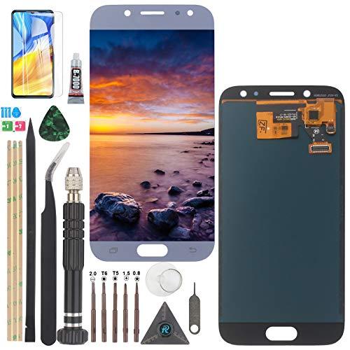 YWL-OU Reemplazo de Pantalla para Samsung Galaxy J5 2017 J530 SM-J530F J5 Pro LCD Display LCD Assembly de Pantalla Táctil + Herramientas Práctica (Azul)
