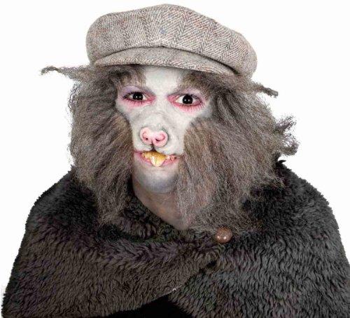 Zähne Gebiss Kostüm Zubehör Ratte Halloween Karneval Fasching