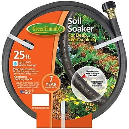Garden Essentials Lot of 3 Garden Soaker Hoses 30 foot each X 3=90 Feet Total