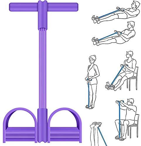 MDCEO Cuerda de tensión multifunción, Elástico Pedal de pie Banda de Entrenamiento,...