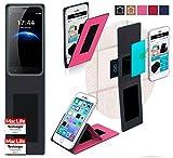 reboon Hülle für HomTom HT3 Tasche Cover Case Bumper | Pink | Testsieger