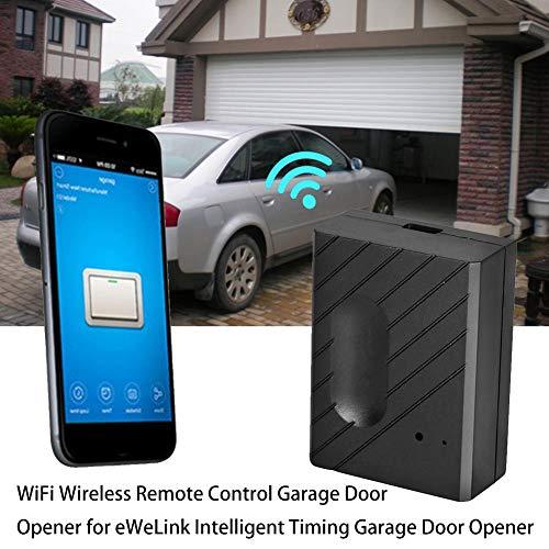 puissant Ouvre-porte de garage WiFi sans fil Lacyie pour ouvre-porte de garage télécommandé eWeLink