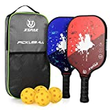 XS XSPAK Graphite Pickleball Paddle Set,...