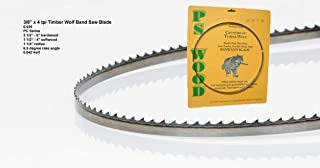 PS Wood Timber Wolf 70 1/2 x 3/8 x 4 tpi band saw blade