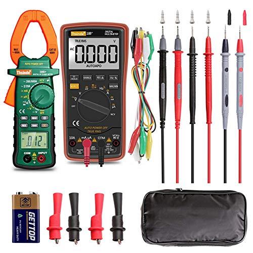Ranging Digital Multimeter Voltage Current