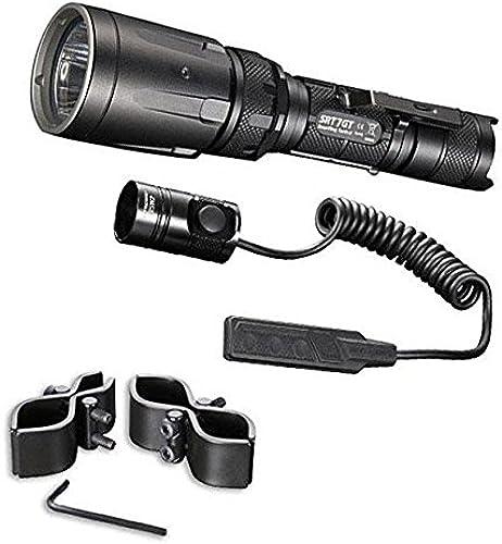 Combo  Nitecore SRT7GT Flashlight - 1000 Lumens -XP-L Hi V3 w RSW1 Pressure Switch & GM03 Gun Mount