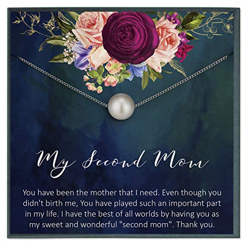Second Mom Quotes Jewelry My Other Mother Stepmom Gifts Stepmother Mother in Law Gifts Mother Like