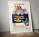 RPW The Beatles Yellow Submarine Vintage Wall Art Movie