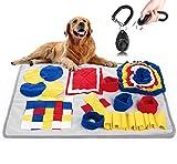SUGARBABY Snuffle Mat para Perros Alfombrilla de Entrenamiento Estera de Entrenamiento Manta para la Nariz Juguete de Juego,70 x 50cm,Azul,Regalar 1pcs Clicker para Adiestramiento Perro