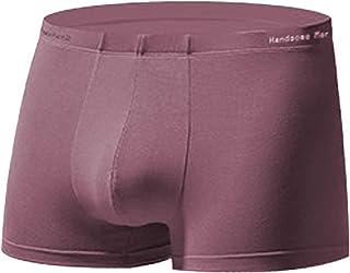 Fulision Men's Compression Breathable Comfortable Leggings Low Waist Shorts