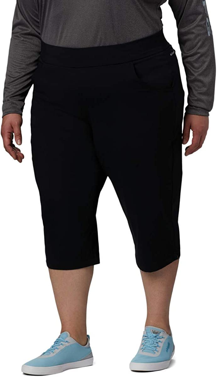 Columbia Anytime Casual Capri Pantalon de randonnée Femme Noir