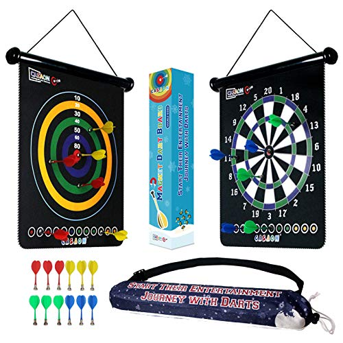 Magnetic Dart Board Game with 12Pcs Magnetic...