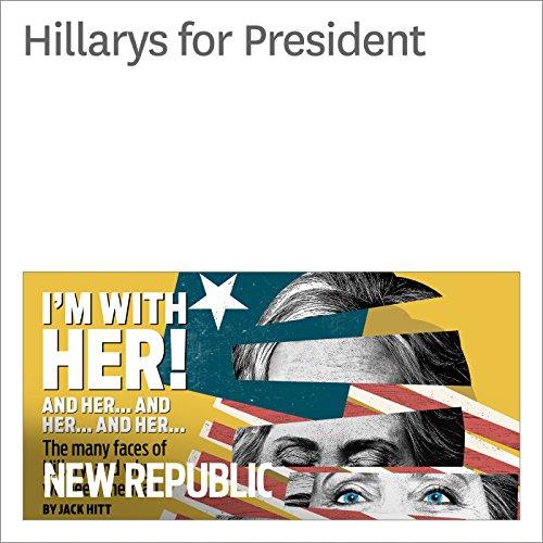 Hillarys for President audiobook cover art