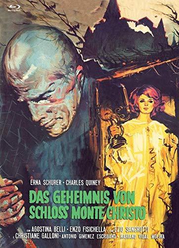 Das Geheimnis von Schloß Monte Christo - Mediabook - Cover B - Limited Edition auf 222 Stück - X-Rated-Eurocult-Collection #61  (+ Bonus-DVD)