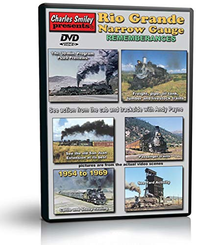 Rio Grande Narrow Gauge Remembrances, The D&RGW in the 1950s