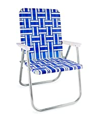 WEBBED CHAIRS: These chairs fill any outdoor seating need, from backyard BBQs to sports games. LIGHTWEIGHT: Our UV-resistant webbing is made of durable material that is conveniently lightweight. MANY DESIGNS: We make many styles from high back beach ...