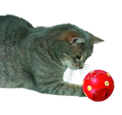 TRIXIE Cat Activity Pelota Snacks, ø7 cm, Gato