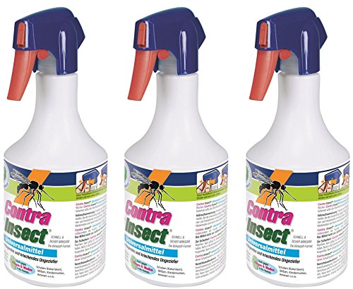 3 x 1 Liter Contra Insect Universal Insektenmittel