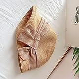 Sombrero de paja japonés sombrero de protección solar de v